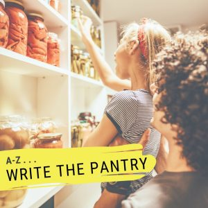 write the pantry kid