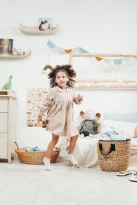 Canva Girl Wearing Dress While Having Fun