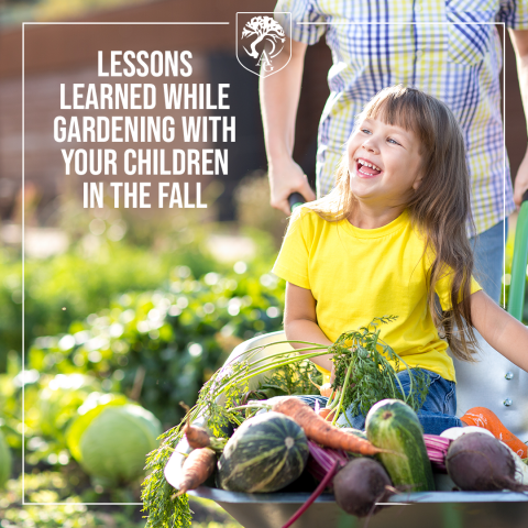 Lessons Learned While Gardening With Your Children In The Fall