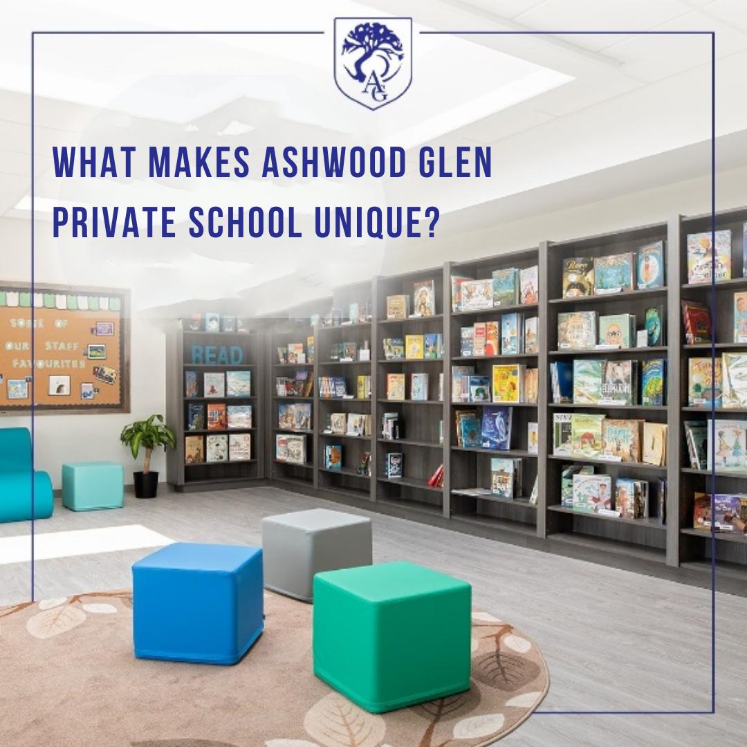what makes ashwood glen private school unique